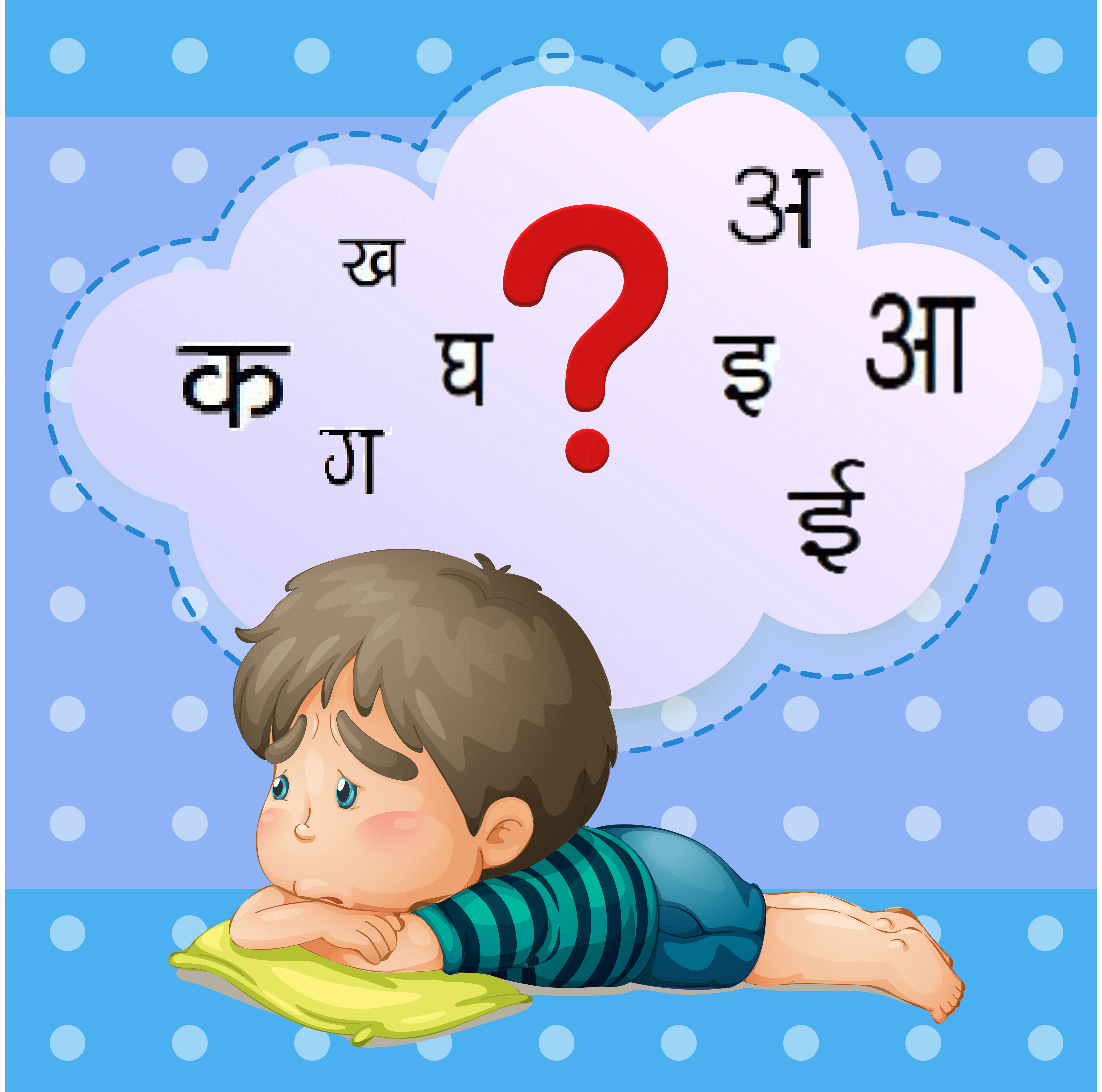 Kids' Hindi learning with fun – How many letters in Hindi Varnamala are!