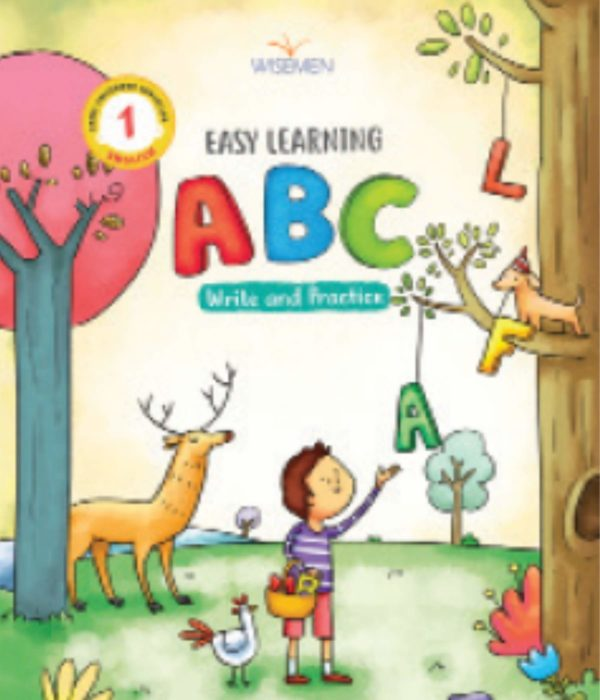Easy Learning – Capital ABC – Write & Practice