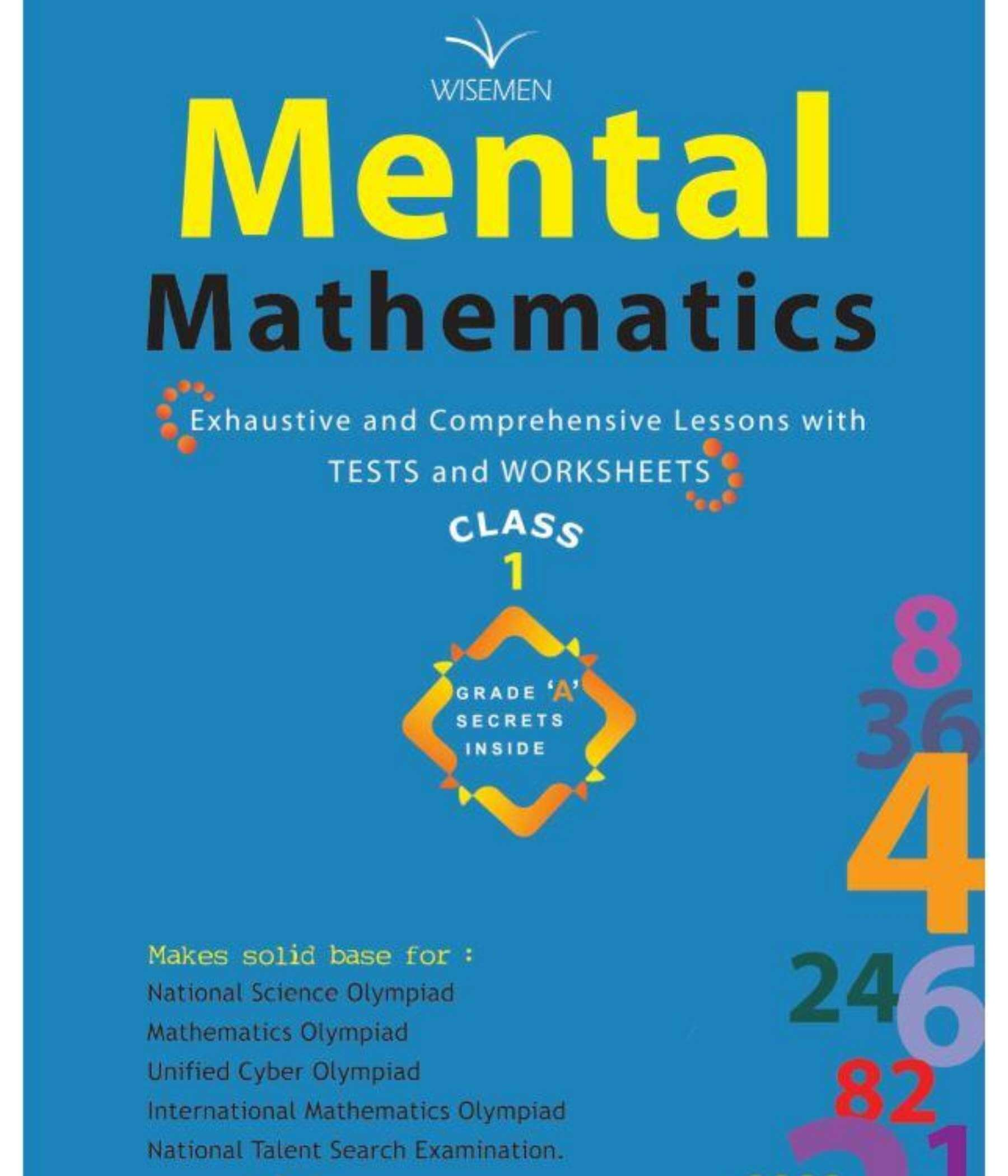 Mental Mathematics – 1 (Practice W...