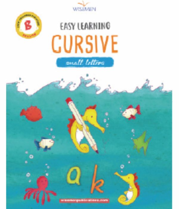 Easy Learning -Cursive Writing – Small abc